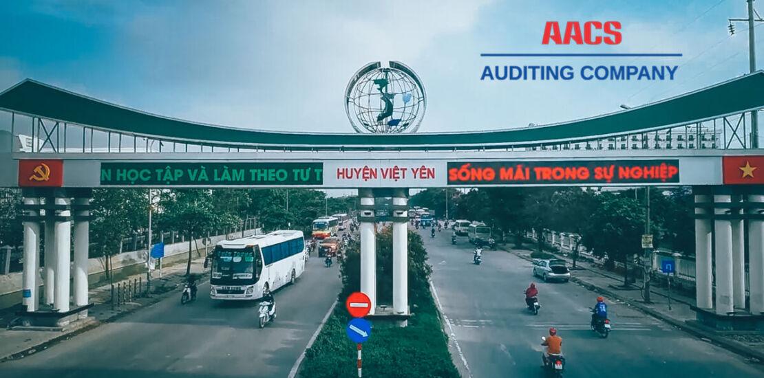 Dịch vụ kiểm toán tại Việt Yên